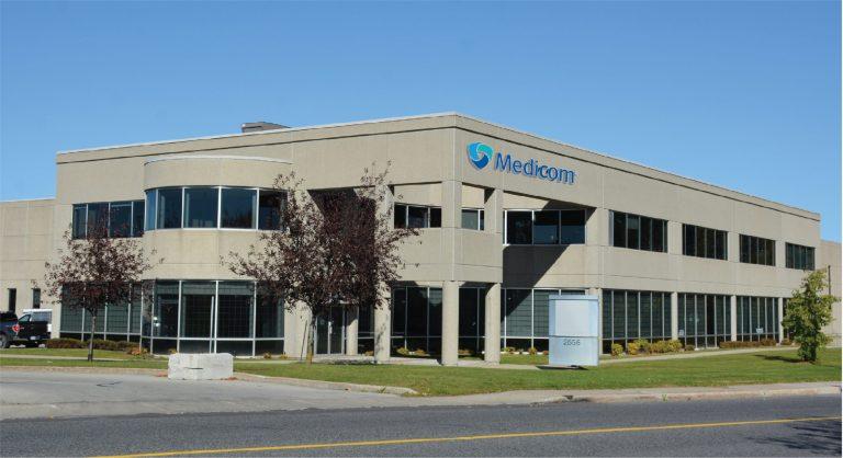 Medicom Head Office in Montreal, Quebec, Canada