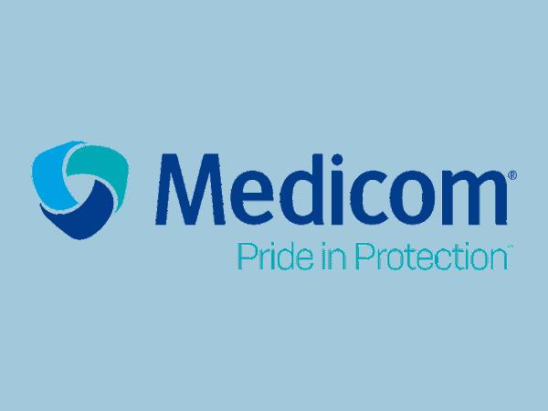 Medicom - Pride in Protection - Logo